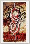 Наклейка-стикер Rock Merch Slipknot