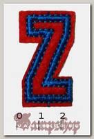 Термонашивка буква Z