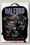 Портфель-ранец Halford Metal God текстильный