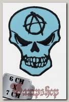 Термонашивка Череп с анархией