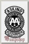 Наклейка-стикер Asking Alexandria
