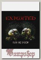 Нашивка The Exploited Fuck the System