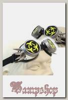Кибер-очки гогглы Biohazard с 10 шипами