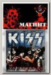 Магнит RockMerch Kiss