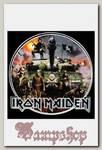 Наклейка-стикер Rock Merch iron Maiden