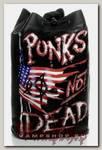 Торба Punks not Dead из кожзаменителя