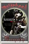 Часы настенные RockMerch Motorhead Lemmy Killmister
