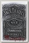 Зажигалка газовая Jack Daniels серая