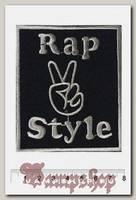 Нашивка Rap Style
