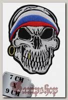 Термонашивка Русский череп