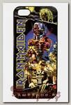 Чехол RockMerch для Apple iPhone Iron Maiden