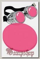 Сменная линза для гогглов розовая