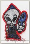 Термонашивка Мертвый инопланетянин
