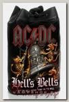 Торба AC DC Hells Bells из кожзаменителя