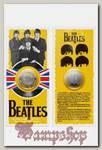 Монета сувенирная The Beatles