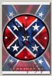 Часы настенные RockMerch Флаг Конфедерации