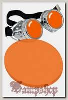 Сменная линза для гогглов оранжевая