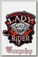Термонашивка Lady Rider