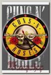 Часы настенные RockMerch Guns n Roses