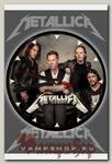 Часы настенные RockMerch Metallica
