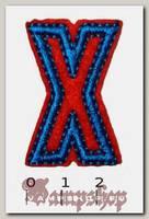 Термонашивка буква X