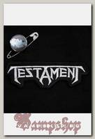 Нашивка Testament