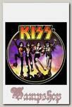Наклейка-стикер Rock Merch Kiss