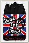 Торба Punks not Dead текстильная