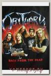 Футболка Obituary Back from the dead