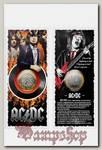 Монета сувенирная AC DC