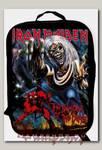 Портфель-ранец Iron Maiden The number of the beast текстильный