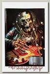 Тетрадь RockMerch Скелет-гитарист