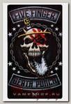 Наклейка-стикер Rock Merch Five Finger Death Punch