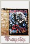 Флаг двусторонний Iron Maiden The Number of the Beast