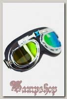 Ретро-очки Авиатор зеленые