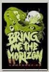 Наклейка-стикер Bring me the Horizon