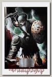 Тетрадь RockMerch Скелет-викинг