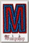 Термонашивка буква M