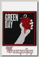 Термонашивка Green Day American Idiot
