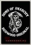 Плед Sons of Anarchy