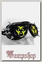 Кибер-очки гогглы Biohazard с 12 шипами