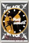 Часы настенные RockMerch Black Sabbath