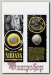 Монета сувенирная Nirvana