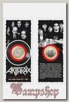 Монета сувенирная Anthrax