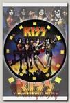 Часы настенные RockMerch Kiss