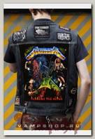 Нашивка Metallica Through the never