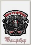 Наклейка-стикер Born to Offend
