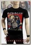 Футболка Anarchy - Punks Not Dead