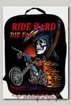 Портфель-ранец Ride Hard Die fast текстильный